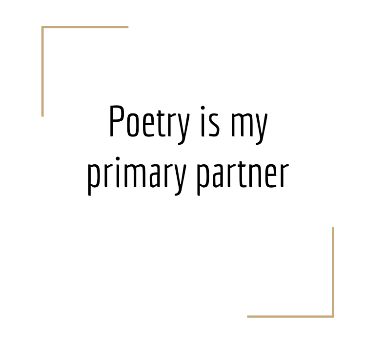 poetry is my primary partner